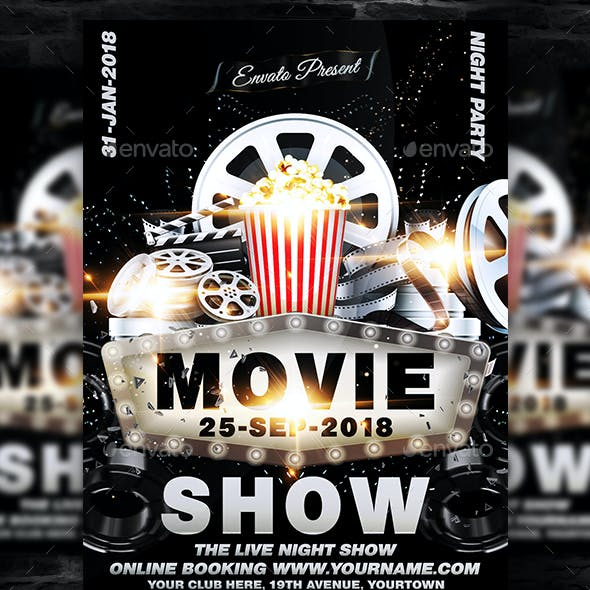 Movie Show Flyer