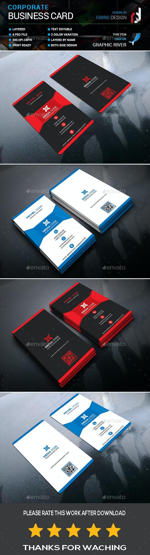 Modern Business Card - Business Cards Print