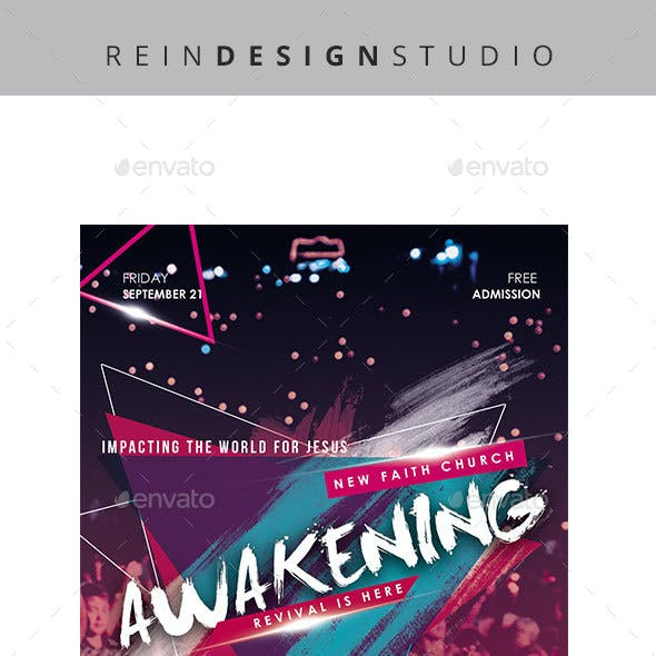Awakening Church Flyer
