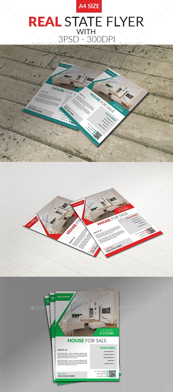 Real State Flyer - Corporate Flyers