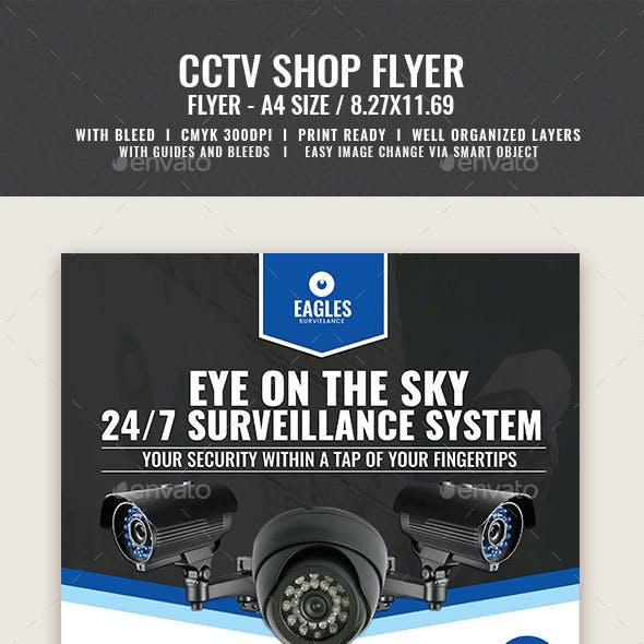 CCTV Camera Shop Flyer v2