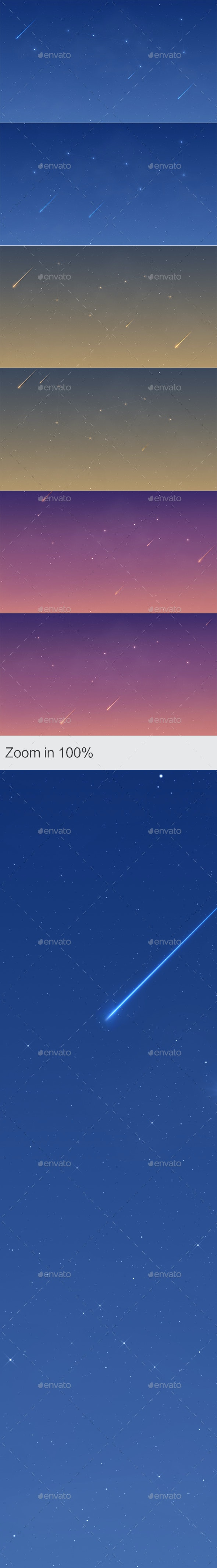 Starry Sky - Abstract Backgrounds