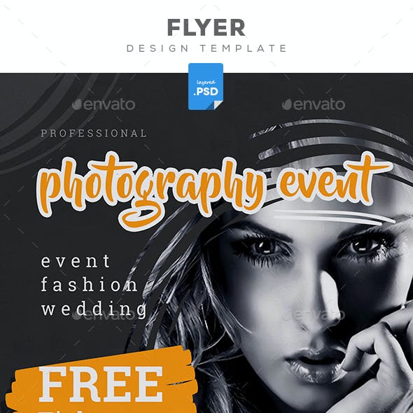 Photography Event Flyer
