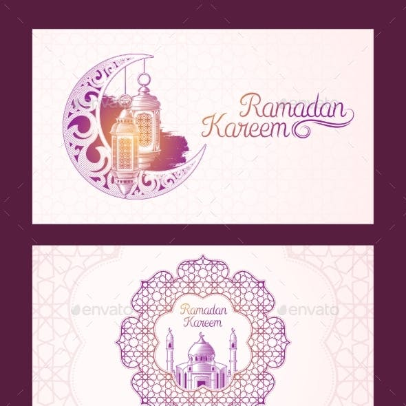 Banners for Ramadan Kareem