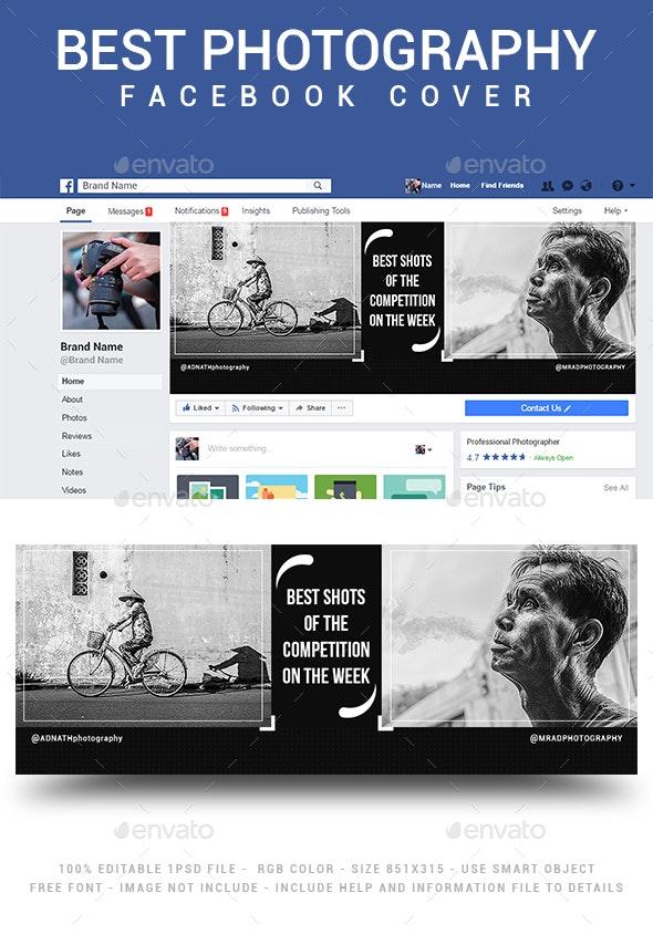 Photography Facebook Cover - Social Media Web Elements