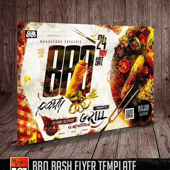 BBQ Bash Flyer Template