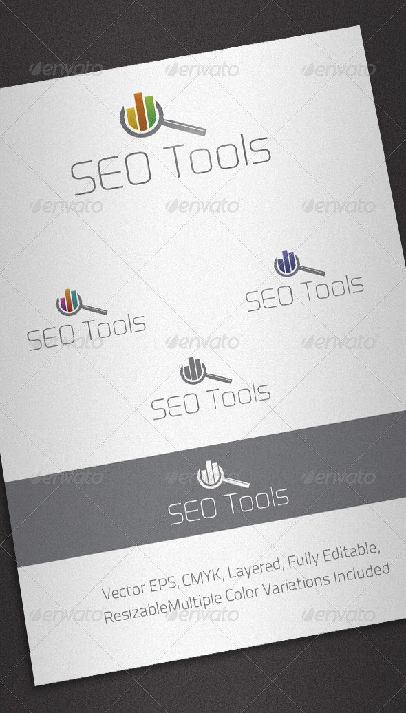 Seo Tools Logo Template - Abstract Logo Templates