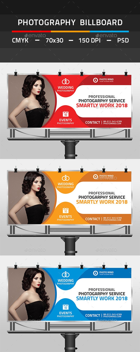 Photography Billboard - Signage Print Templates
