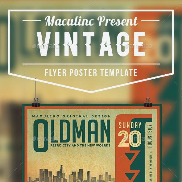 Vintage Flyer/Poster Vol.5