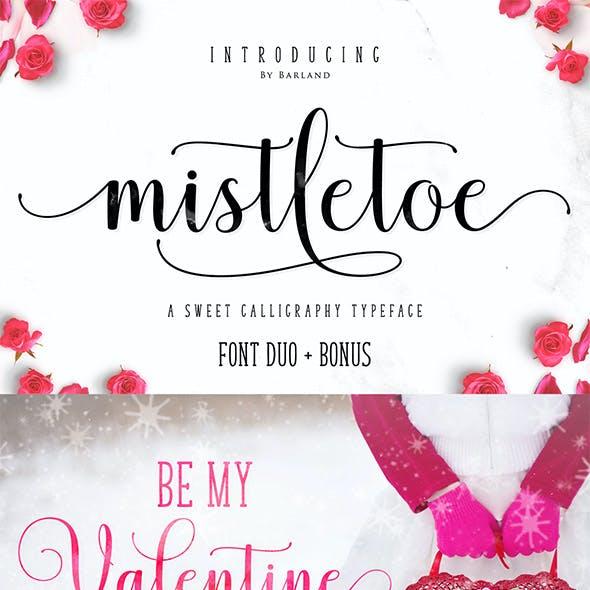 Mistletoe Script Font Duo