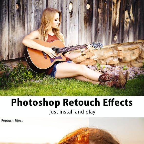 Photoshop Retouch Effect