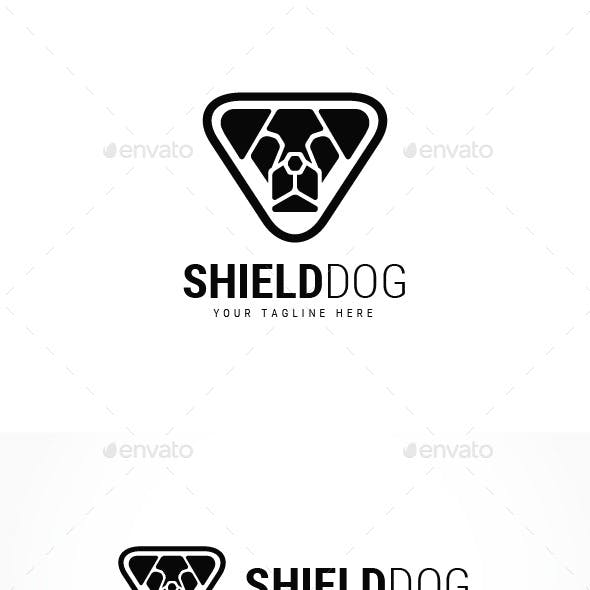 Shield Dog Logo