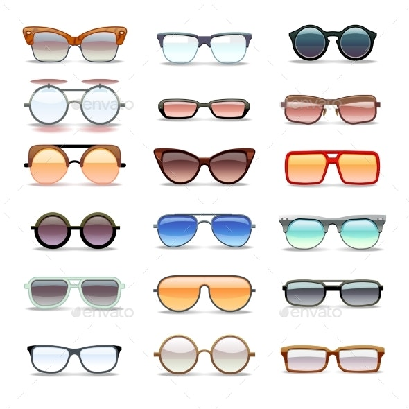 Summer Sunglasses - Man-made Objects Objects
