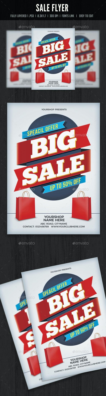 Sale Flyer/Poster - Flyers Print Templates