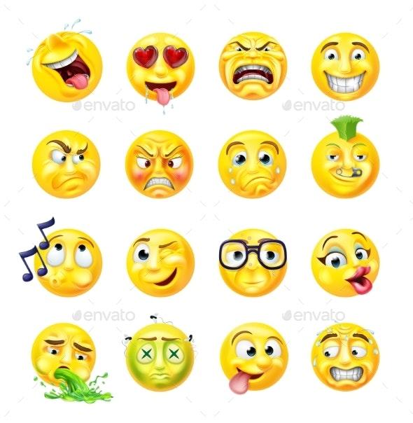Emoji Emoticon Set - Miscellaneous Characters