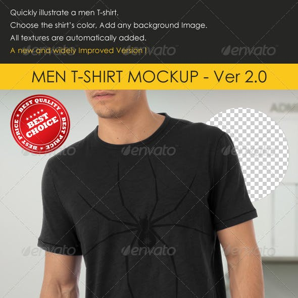 Professional Men T-Shirt Mock-up