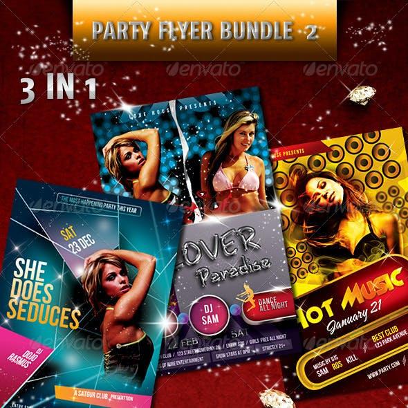 Hot Party Flyer Bundle V2