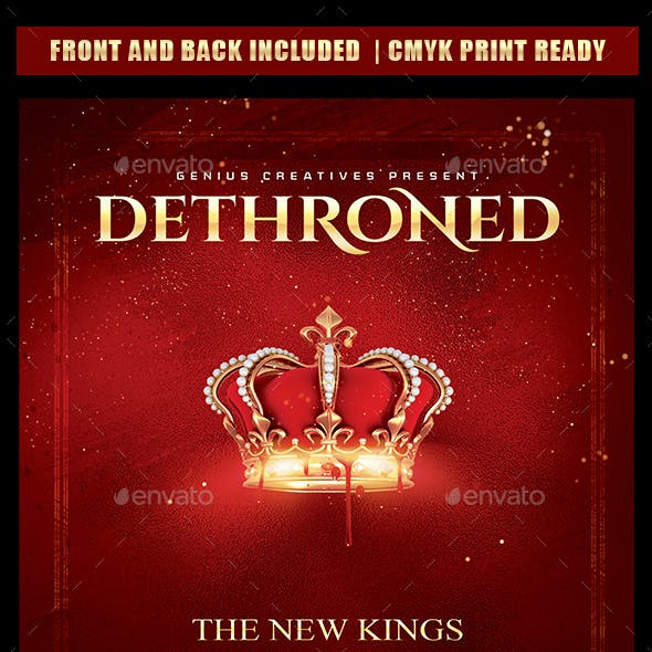Dethroned Mixtape Cover Template