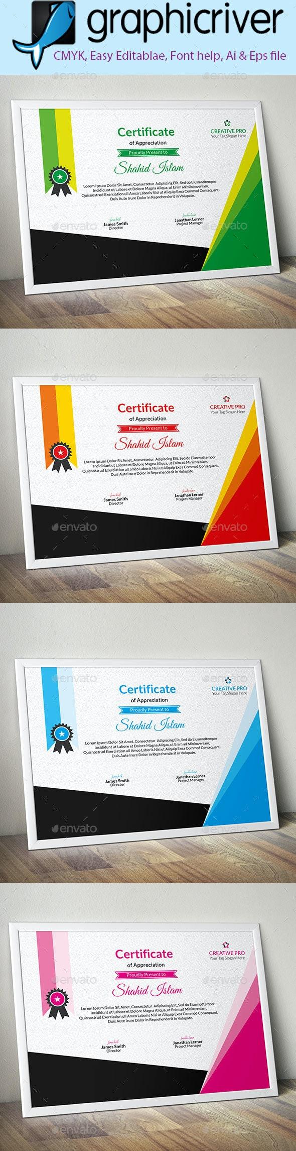 Corporate Certificate (3) - Certificates Stationery