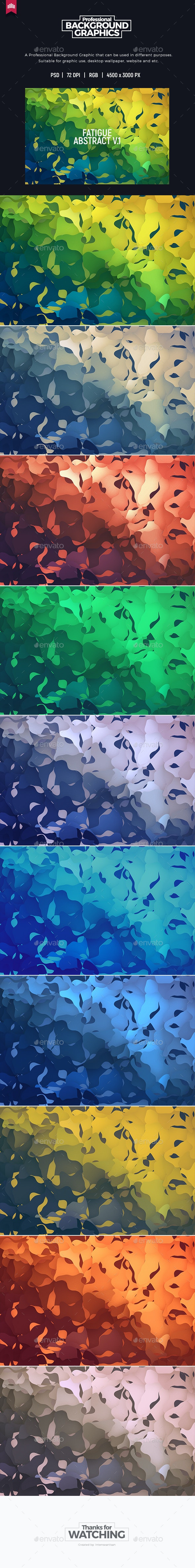 Fatigue Abstract V.1 - Background - Abstract Backgrounds
