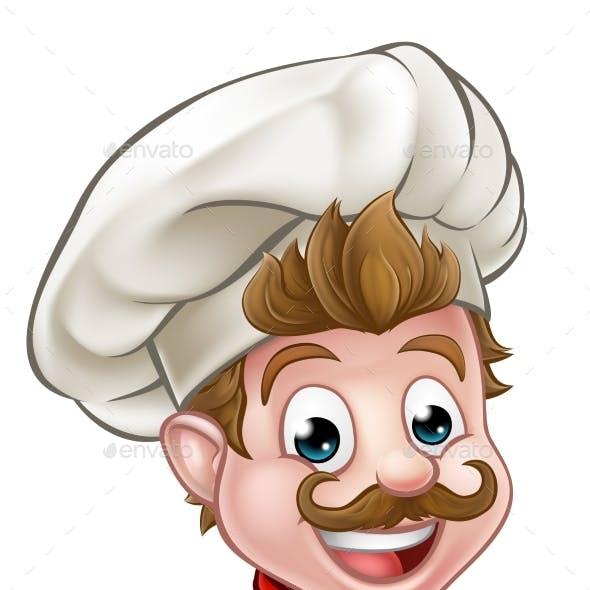 Chef Cook Cartoon Mascot