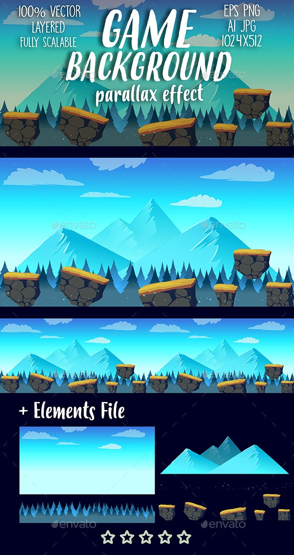 Seamless Background - Backgrounds Game Assets