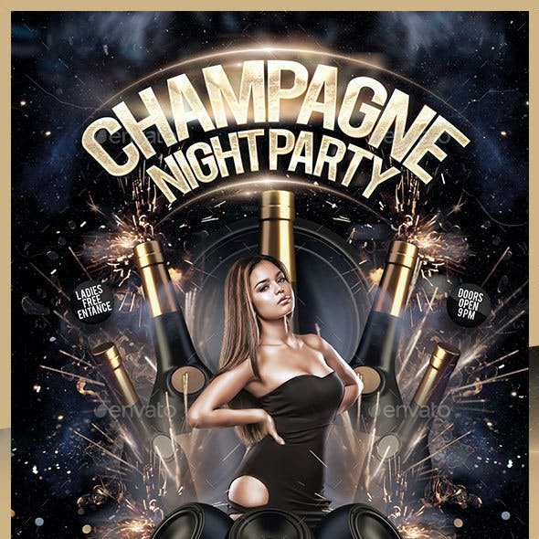 Champagne Night Party