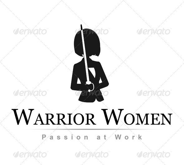 Corporate Warrior Women  - Humans Logo Templates