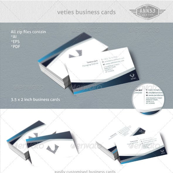 Veties Business Card