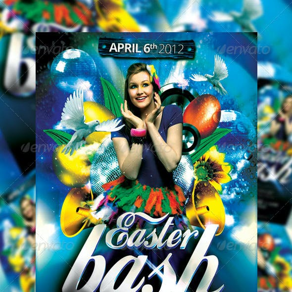 Easter Bash Party Flyer Vol_3