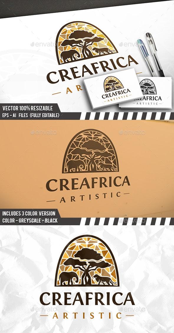 Creative Africa Logo - Animals Logo Templates