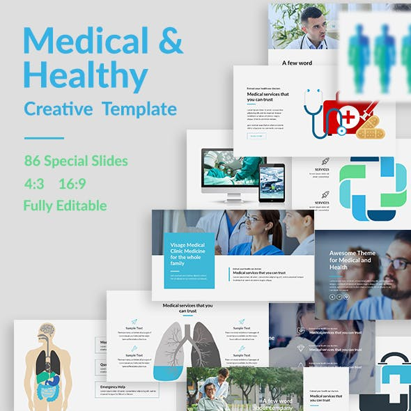 Medical and Healthy Powerpoint Template