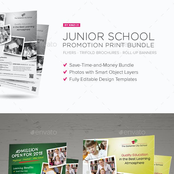 Junior School Promotion Bundle