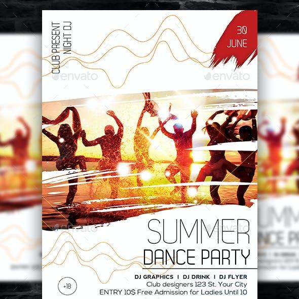 Summer Dance Flyer