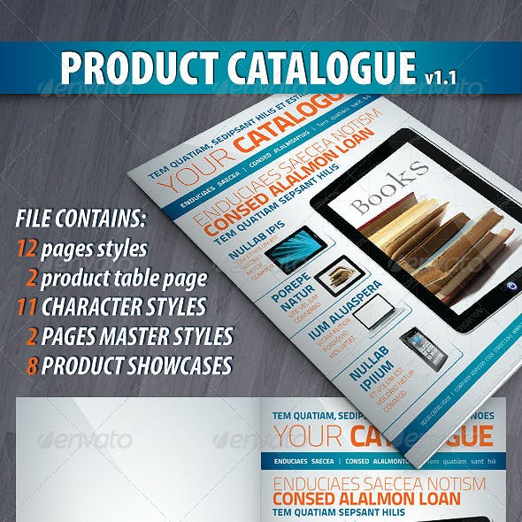 Product Catalog/Brochure