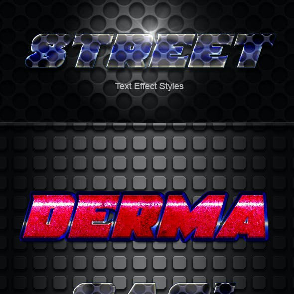 Street Text Effect Styles v04