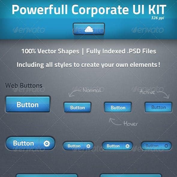 Powerfull Corporate UI Kit