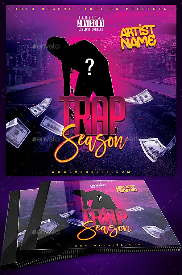 Trap Season Mixtape Covers Mixtape Cover Designs By Yellow Emperor