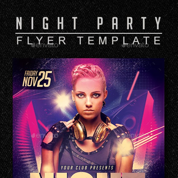 Night Party Flyer 2