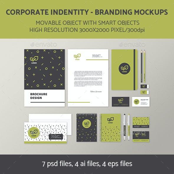 Branding Identity Mock-Up Set 4