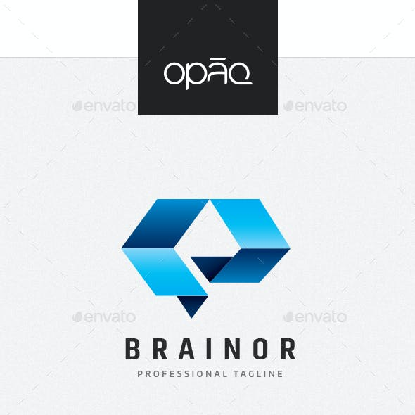 Technology Dimension Brain Logo