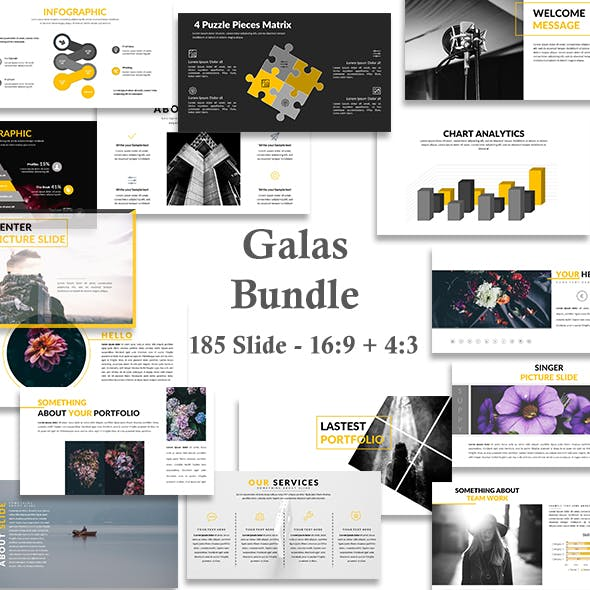 Galas Bundle - Creative Google Slide Template
