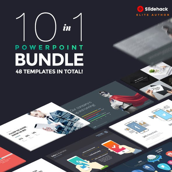 10 in 1 - Pitch Powerpoint Bundle