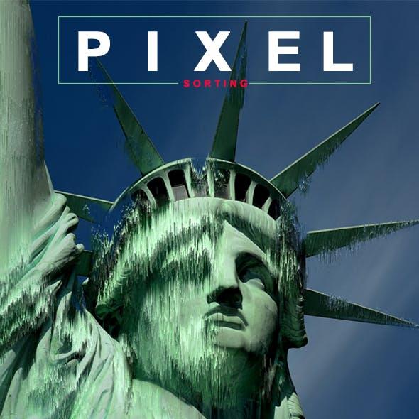 Pixel Sorting PS Action
