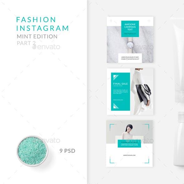 Fashion Instagram – Mint Edition – Part 2