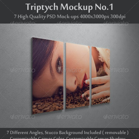 Triptych Mock-Up No.1