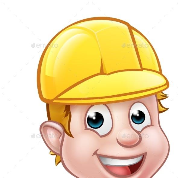 Hard Hat Handyman Carpenter Mechanic or Plumber
