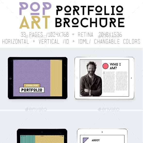 Ipad&Tablet Pop Art Portfolio