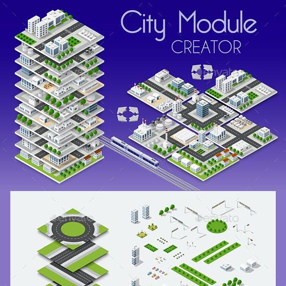 City Isometric Creator