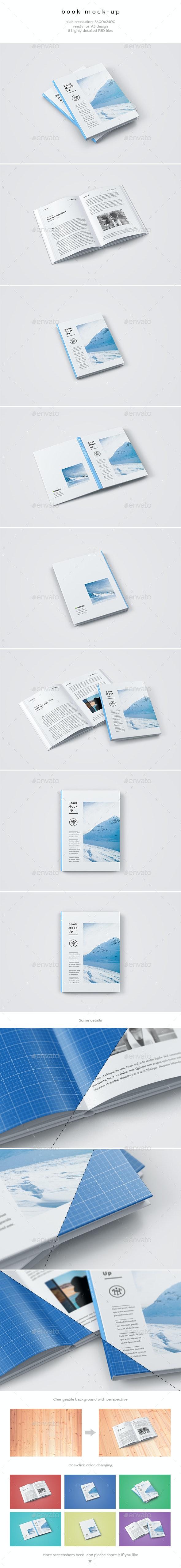 Book Mock-Up - Books Print